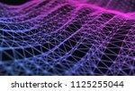 abstract 3d technology... | Shutterstock . vector #1125255044