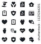 set of vector isolated black... | Shutterstock .eps vector #1125266201