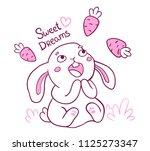 vector illustration of lovely... | Shutterstock .eps vector #1125273347