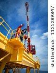 crane inspector  crane...   Shutterstock . vector #1125289847