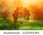vector template of banner with... | Shutterstock .eps vector #1125291491