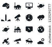 set of simple vector isolated... | Shutterstock .eps vector #1125293777