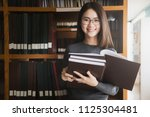 back to school education... | Shutterstock . vector #1125304481