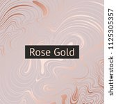 rose gold. abstract decorative... | Shutterstock .eps vector #1125305357