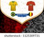 match playoffs. game between... | Shutterstock .eps vector #1125309731