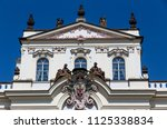 bishop's palace in prague ... | Shutterstock . vector #1125338834