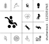 life icon. collection of 13... | Shutterstock .eps vector #1125351965