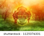 vector template of banner with... | Shutterstock .eps vector #1125376331