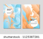 the abstract colorful... | Shutterstock .eps vector #1125387281