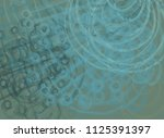abstract painting on canvas.... | Shutterstock . vector #1125391397