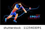 vector abstract illustration of ... | Shutterstock .eps vector #1125403091