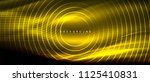 neon glowing lines  magic... | Shutterstock .eps vector #1125410831