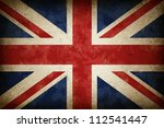 Grunge Great Britain Flag As A...