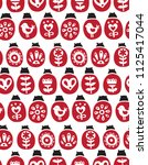 vector seamless pattern with... | Shutterstock .eps vector #1125417044