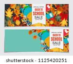 abstract  illustration back to... | Shutterstock . vector #1125420251