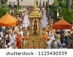luang prabang  laos   april 16  ... | Shutterstock . vector #1125430559