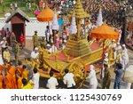 luang prabang  laos   april 16  ... | Shutterstock . vector #1125430769