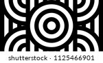seamless pattern with circles... | Shutterstock .eps vector #1125466901