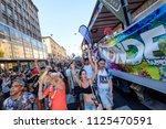 milano pride 2018 ... | Shutterstock . vector #1125470591