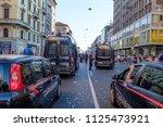italian carabinieri police... | Shutterstock . vector #1125473921