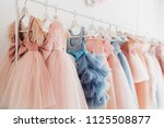 beautiful dressy lush pink and... | Shutterstock . vector #1125508877