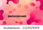 colorful geometric background... | Shutterstock .eps vector #1125529595
