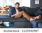 wide shot of an attractive...   Shutterstock . vector #1125542987