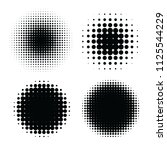 abstract halftone backgrounds....   Shutterstock .eps vector #1125544229