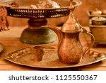 A Set Of Ancient Copper Jug An...
