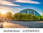 milton keynes england  june... | Shutterstock . vector #1125569351