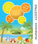colorful template for... | Shutterstock .eps vector #112557965