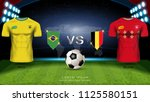 football cup 2018 world... | Shutterstock .eps vector #1125580151