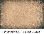 grunge background brown | Shutterstock . vector #1125582335