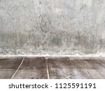 Cement wall with floor...