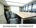 spacious and neat conference... | Shutterstock . vector #1125626225