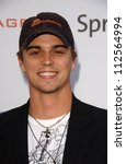"Small photo of Darin Brooks at Samsung and Sprint ""The Upstage"" Country Club. Private Location, Beverly Hills, CA. 04-15-07"