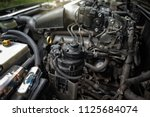diesel fuel filter and water... | Shutterstock . vector #1125684074