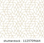abstract geometric pattern with ... | Shutterstock .eps vector #1125709664