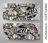 cartoon graphics vector hand... | Shutterstock .eps vector #1125714584