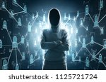 cybercrime  hacking and... | Shutterstock . vector #1125721724