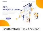modern flat design isometric... | Shutterstock .eps vector #1125722264