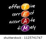 team   effective  correct ...   Shutterstock .eps vector #1125741767