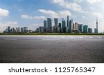 panoramic skyline and buildings ... | Shutterstock . vector #1125765347