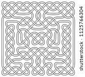 vector illustration of celtic... | Shutterstock .eps vector #1125766304