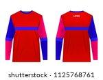 design for sublimation print.... | Shutterstock .eps vector #1125768761