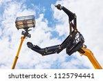 hydraulic high altitude... | Shutterstock . vector #1125794441