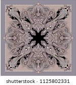 classic paisley scarf   Shutterstock .eps vector #1125802331