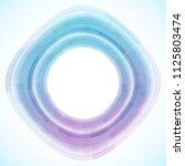 geometric frame from circles ...   Shutterstock .eps vector #1125803474