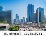 modern city skyline panorama in ... | Shutterstock . vector #1125815261