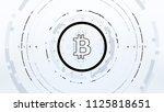 bitcoin futuristic sci fi...